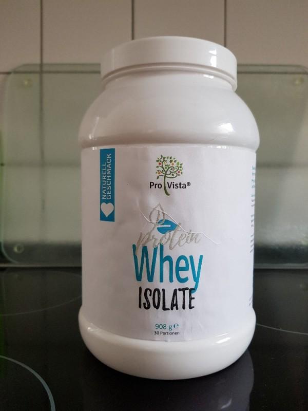 Protein Whey Isolate, Geschmacklich Naturell von Alexandra Wischnewski   Hochgeladen von: Alexandra Wischnewski