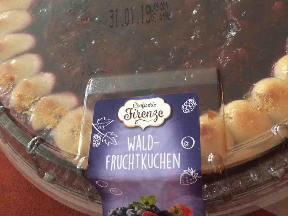 Waldfruchtkuchen, Marzipan  von hollus | Hochgeladen von: hollus
