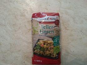 Müllers Mühle Teller Linsen Kalorien Nüsse Hülsenfrüchte Fddb