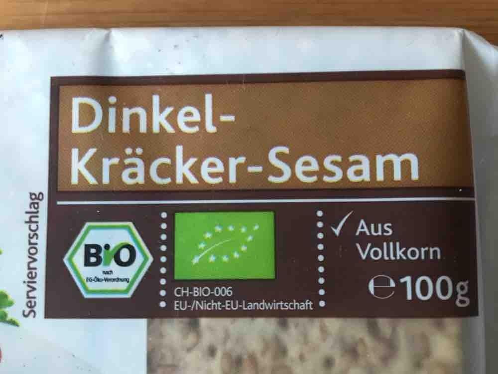 Dinkel-Kräcker-Sesam , aus Vollkorn von verano   Hochgeladen von: verano