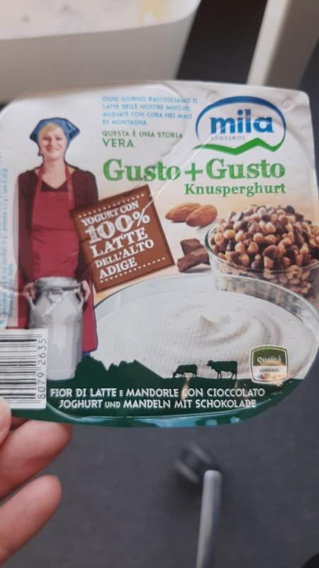Joghurt  Mandel und  Schoki von Maria Feichter   Hochgeladen von: Maria Feichter
