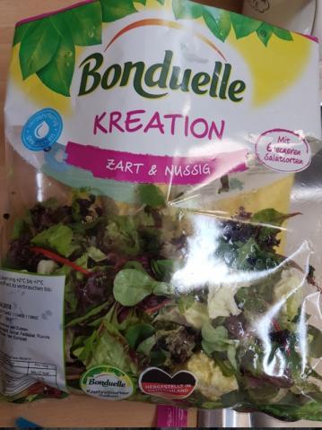 Kreation Salatmix Zart und Nussig | Hochgeladen von: crishaj