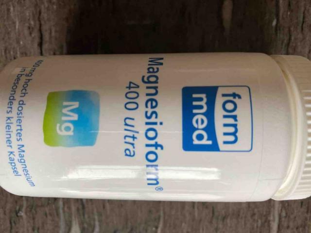 Form Med Magnesioform  400 ultra, Nahrungsergänzungsmittel von Crazy Family | Hochgeladen von: Crazy Family