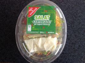 Salat: Gartensalat mit Joghurt-Dressing | Hochgeladen von: xmellixx