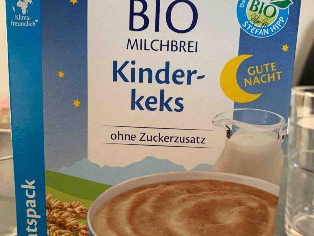 Hipp Milchbrei Kinderkeks, Wasser von Nino203 | Hochgeladen von: Nino203