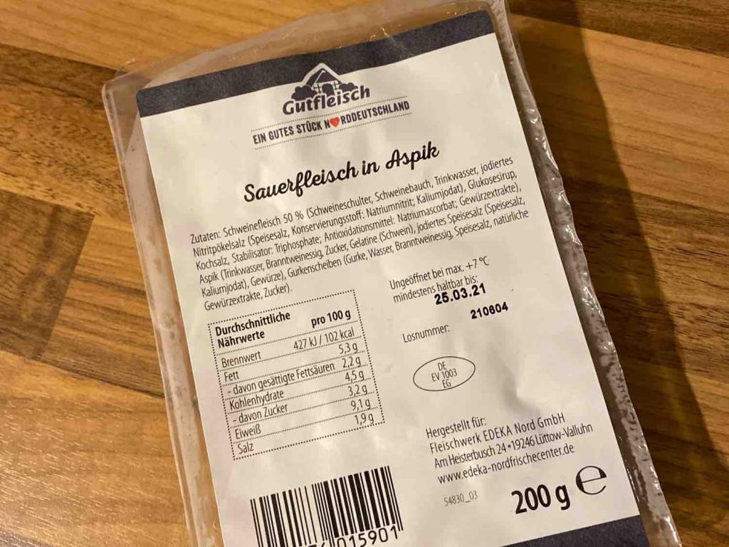 Sauerfleisch in Aspik von misel   Hochgeladen von: misel