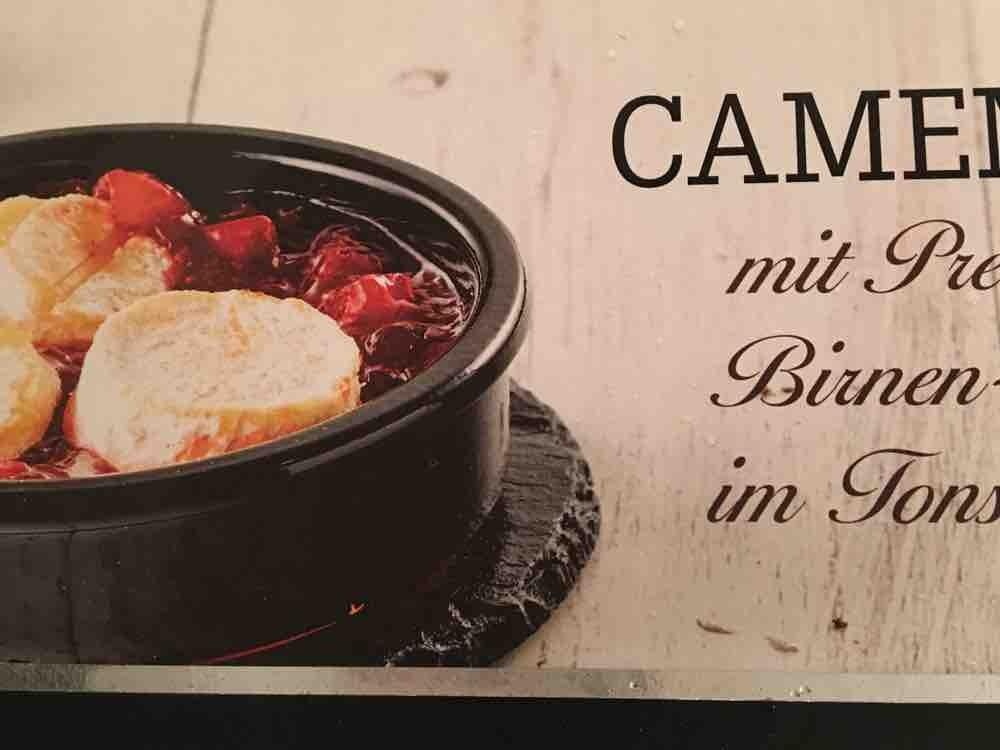 Camembert , mit Preiselbeer-Birnen-Chutney von Cascara2102 | Hochgeladen von: Cascara2102