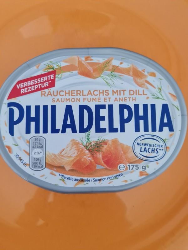 Philadelphia, Räucherlachs mit Dill von Rosapiti | Hochgeladen von: Rosapiti