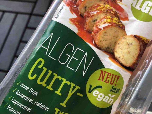 Algen Currywurst, vegan von Bettuey | Hochgeladen von: Bettuey