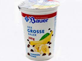 Der grosse Bauer Joghurt, Schokobälle Banane   Hochgeladen von: JuliFisch