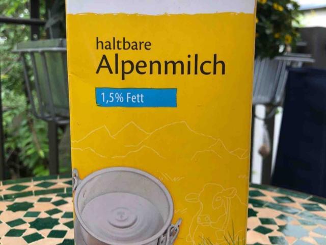 haltbare Alpenmilch, 1,5% Fett von munmme   Hochgeladen von: munmme