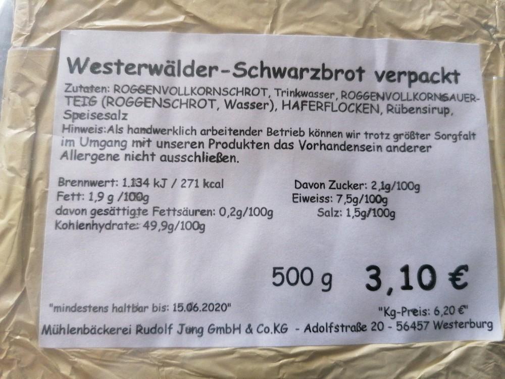 Westerewälder Schwarzbrot von cehschcschoenicke | Hochgeladen von: cehschcschoenicke