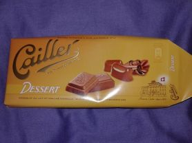 Cailler Milchschokolade, Dessert | Hochgeladen von: Misio