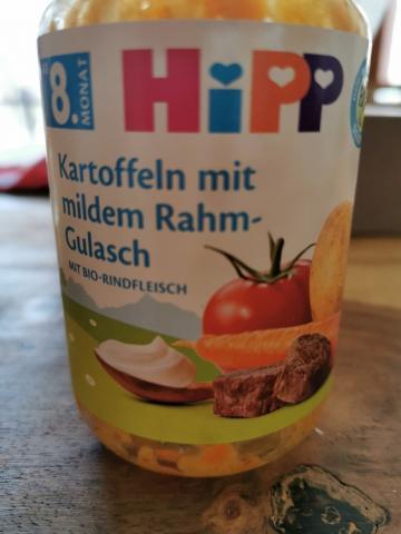 Kartoffel mit mildem Rahm, Gulasch mit Bio-Rindfleisch von Nikiimapril   Hochgeladen von: Nikiimapril