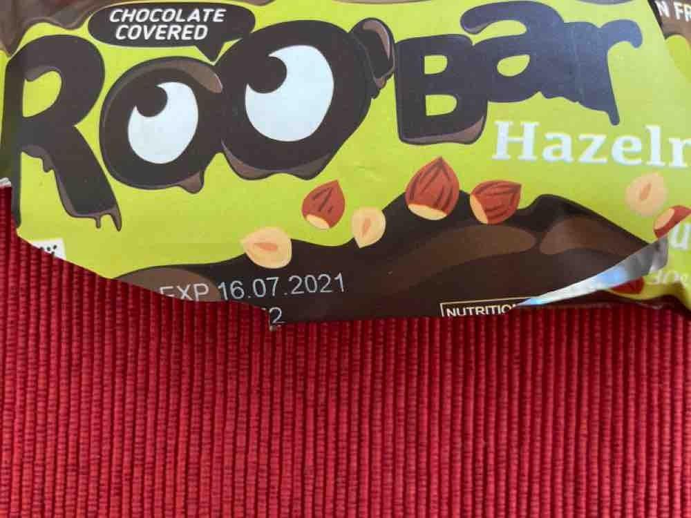 Roobar Chocolate Covered Hazelnut, vegan; gluten free; organic von Vianne | Hochgeladen von: Vianne
