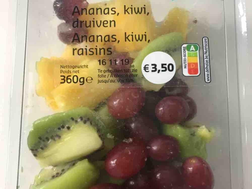 Ananas, Kiwi, Trauben Salat von tanner20 | Hochgeladen von: tanner20