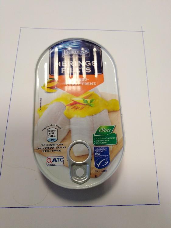Heringsfilet in Mango-Curry-Creme von lurch1960559   Hochgeladen von: lurch1960559