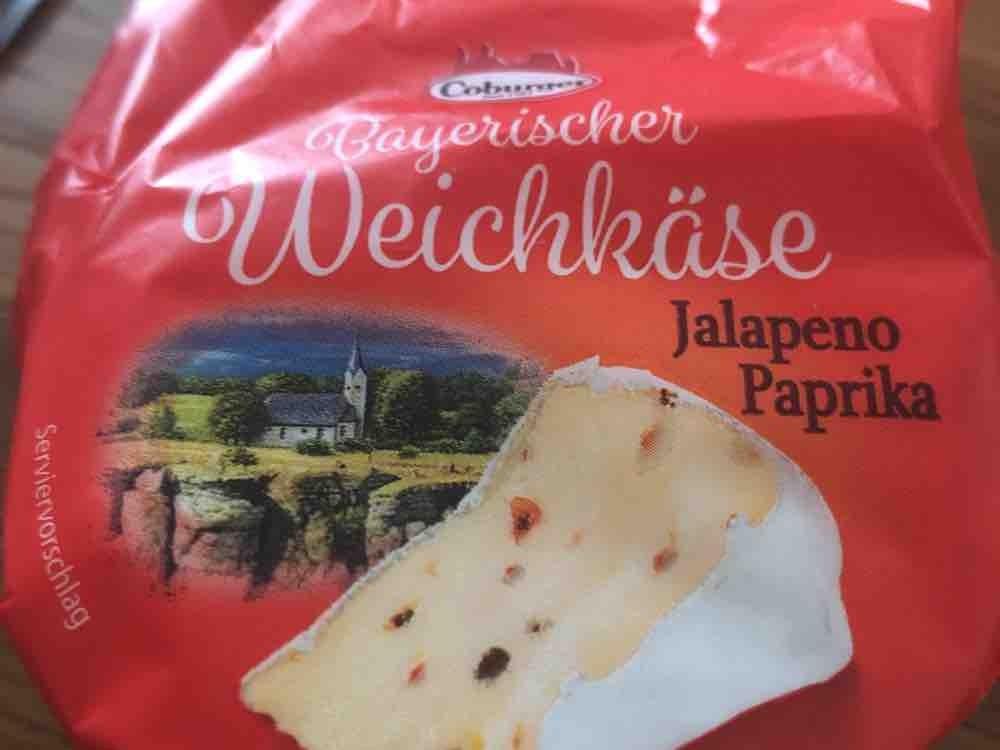 Bayrischer Weichkäse, Jalapenso Paprika von kohlliesel | Hochgeladen von: kohlliesel