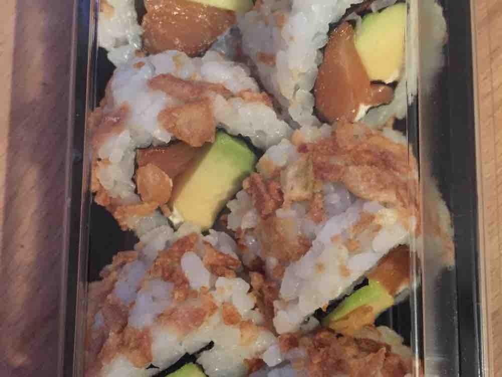 California Rainbow Avocado, Sushi von evas84849   Hochgeladen von: evas84849