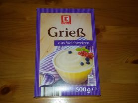 K Classic Weichweizengrieß Kalorien Getreideprodukte Fddb
