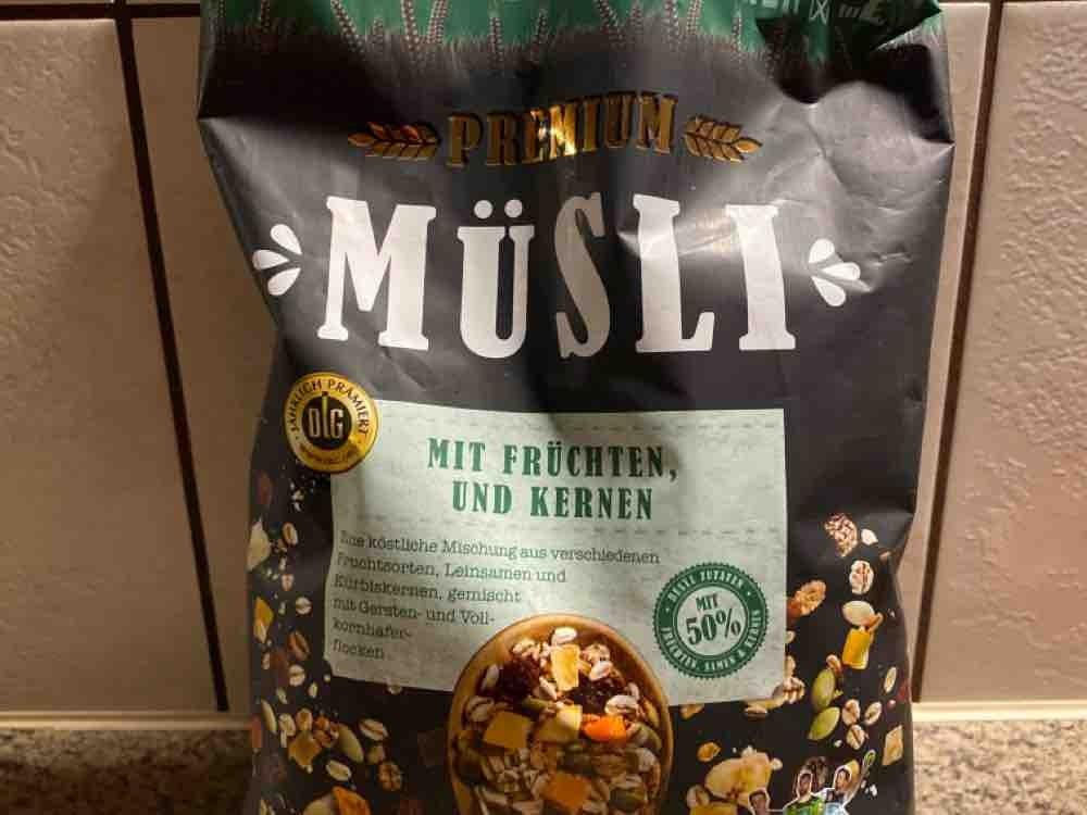 Premium Müsli, 50% Früchten & Kerne von Sabian | Hochgeladen von: Sabian