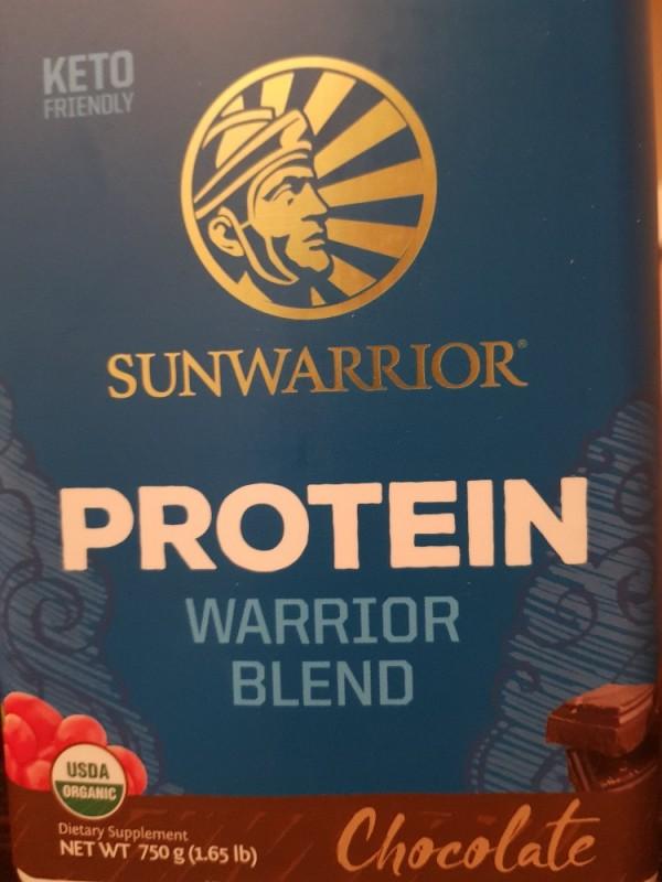 Warrior Blend, pflanzliches Protein, chocolate von FDR | Hochgeladen von: FDR