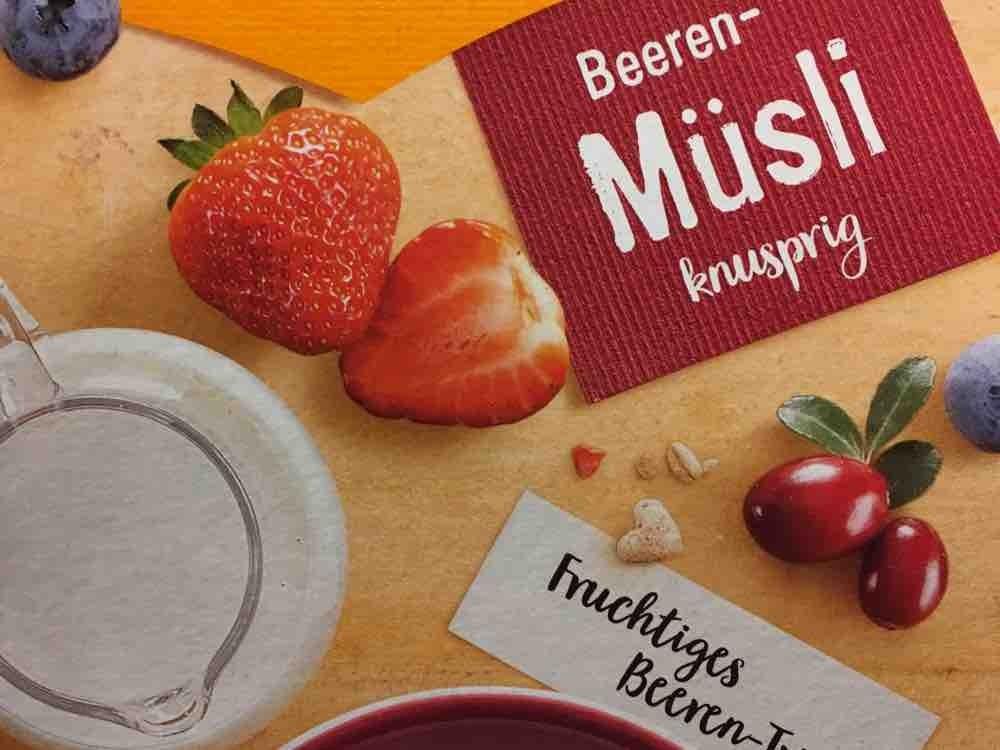 Beeren-Müsli knusprig, Fruchtiges Beeren-Trio von mainteufel   Hochgeladen von: mainteufel