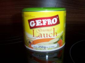 Gefro - Gourmet, Lauchcremesuppe   Hochgeladen von: Nudelpeterle 12.07.10    63 kg
