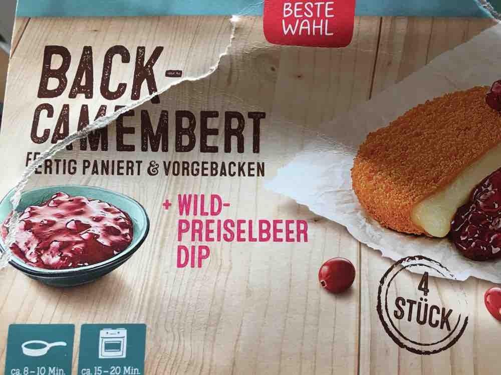 Back-Camembert, mit Wildbeerpreiselsoße von yvonnema | Hochgeladen von: yvonnema