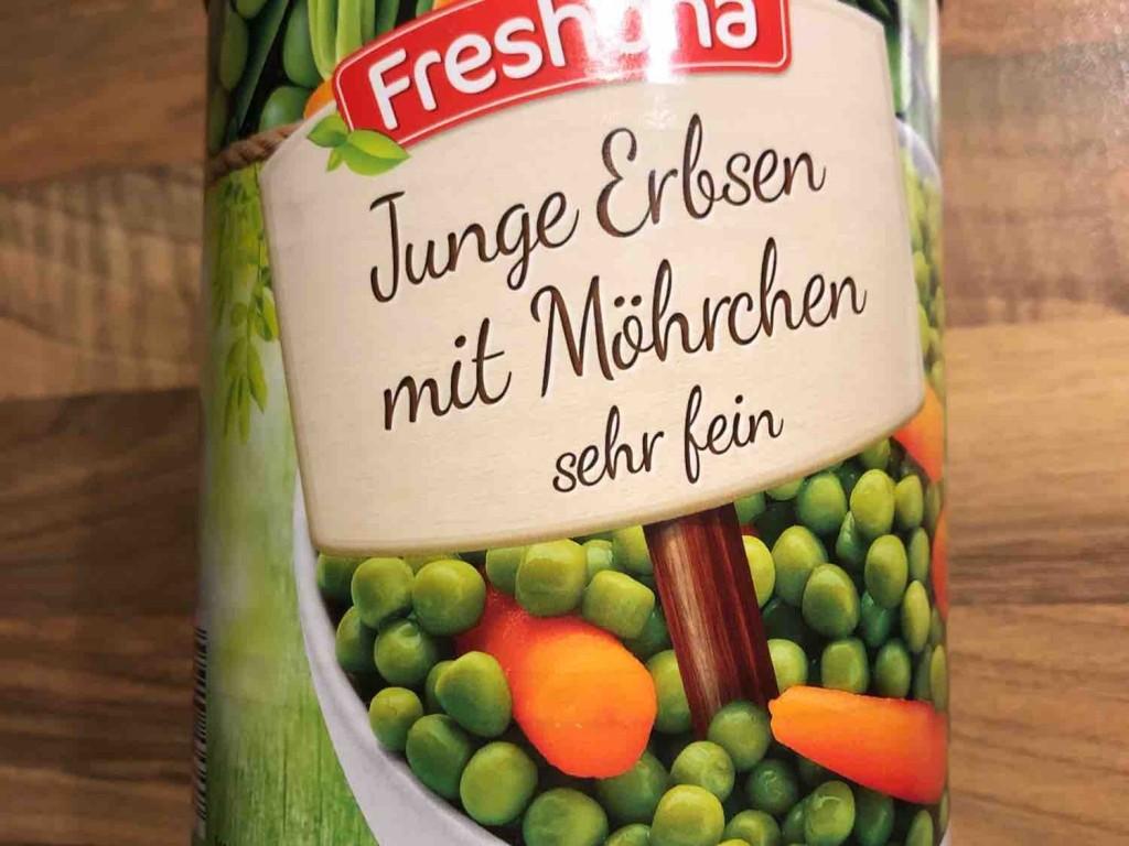 Junge Erbsen mit Möhrchen, sehr fein von ch.hehl | Hochgeladen von: ch.hehl