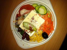 Diverse Türkischer Bauernsalat Feta Mit Joghurtdressing Kalorien