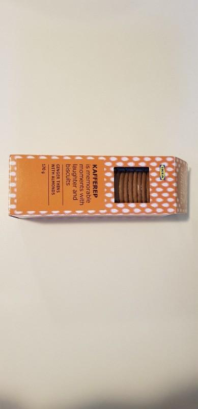 Kafferep, Ginger Thins with Almonds von Atomino | Hochgeladen von: Atomino