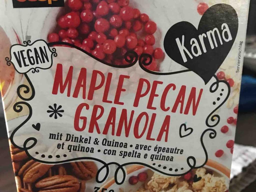 Maple Pecan Granola, mit Dinkel & Quinoa von Atacama1200 | Hochgeladen von: Atacama1200