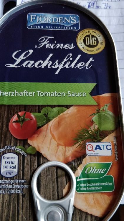 Feines Lachsfilet in herzhaft er Tomate-Sauce, Fisch von arturrachner181 | Hochgeladen von: arturrachner181