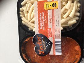 Lecker Mahlzeit, Bolognese-Sauce mit Geflügelfleisch und Nud | Hochgeladen von: kovi