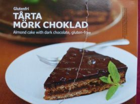 Ikea Tarta Mork Choklad Mandeltorte Mit Dunkler Schokolade