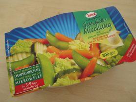 Gemüsemischung, mit zartem Romanesco (tiefgefroren) | Hochgeladen von: Teecreme