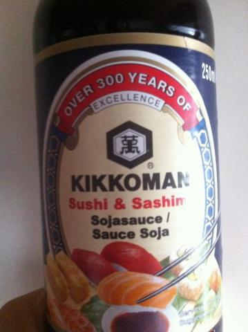 Sushi & Sashimi Sojasauce   Hochgeladen von: britskank