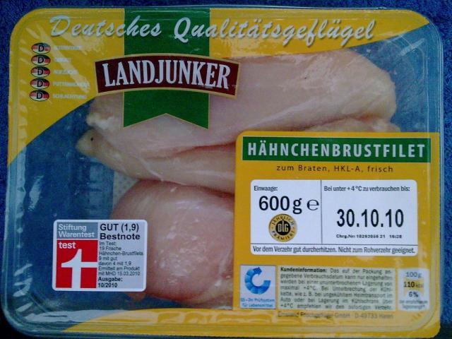 Hähnchenbrustfilet (Landjunker)   Hochgeladen von: AFFBerlin