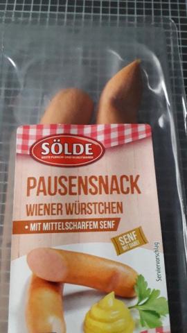 Pausensnack Wiener Würstchen , mit Mittelscharfen Senf von Froschine   Hochgeladen von: Froschine