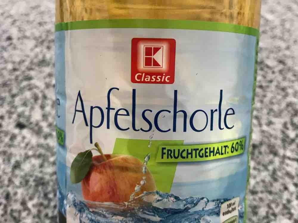 K-Classic, Apfelschorle Kalorien - Getränke - Fddb