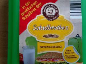 Schulbrotbox - Sonnenblumenbrot | Hochgeladen von: subtrahine