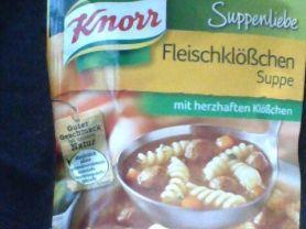 Suppenliebe, Fleischklößchen Suppe | Hochgeladen von: Seidenweberin