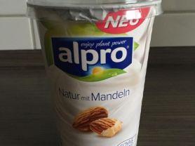 Alpro Soja Natur mit Mandeln | Hochgeladen von: Ummi