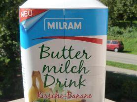 Milram Buttermilch Drink Kirsche-Banane, Kirsche Banane | Hochgeladen von: heikiiii