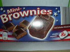 Aldi Mini Brownies Mit Schoko Stuckchen Kalorien Kuchen Torten