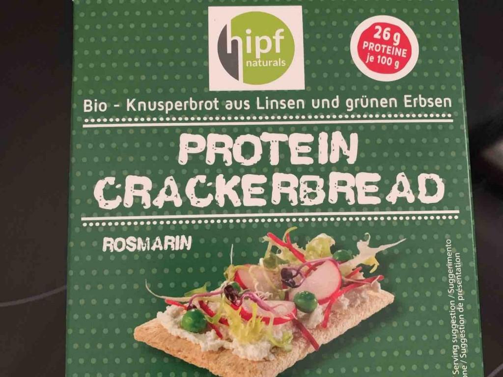 hipf Protein Crackerbread Rosmarin von liinaa.   Hochgeladen von: liinaa.