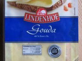 Lindenhof Gouda, 48% Fett i. Tr.   Hochgeladen von: Wattwuermchen