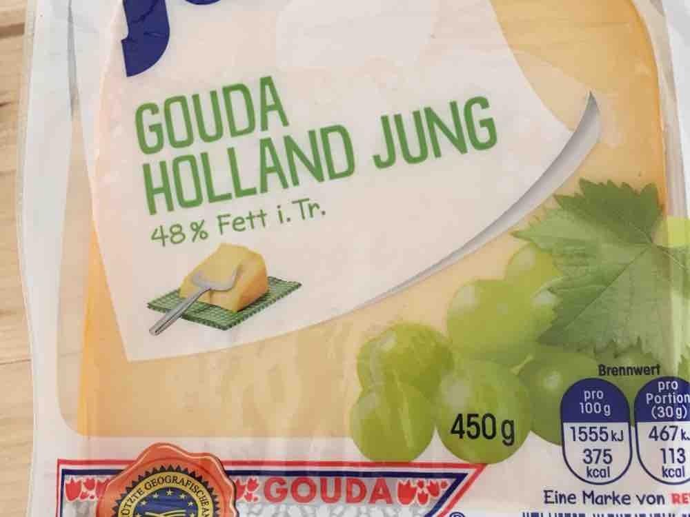 Gouda Holland Jung, 48% Fett i. Tr. von ulrichklinger464   Hochgeladen von: ulrichklinger464