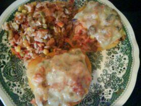 gefüllte Paprika mit Lachs und Gemüse | Hochgeladen von: Radhexe